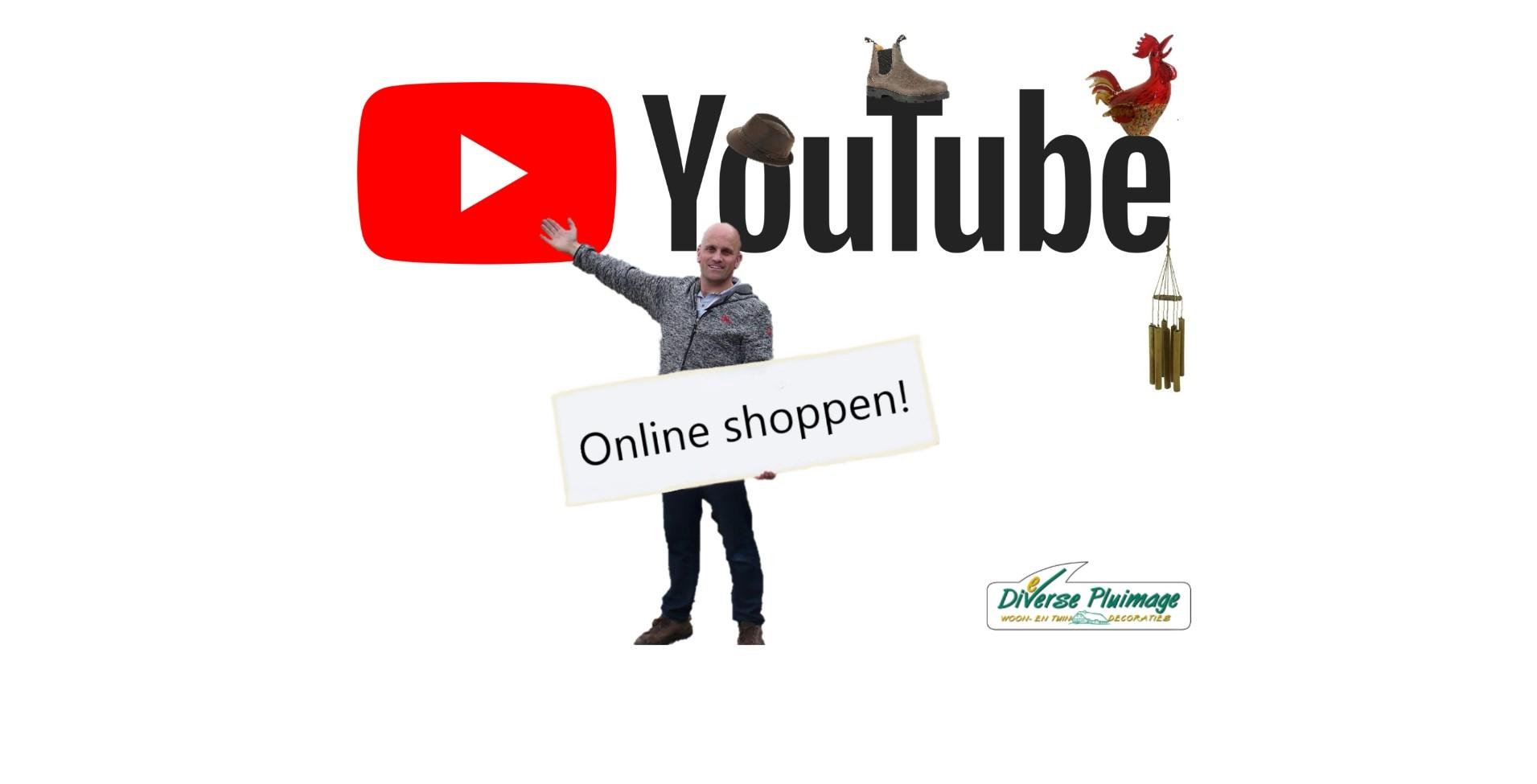 YouTube online shoppen